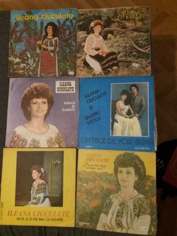6 Discuri pickup vinil Ileana Ciuculete-stare f.buna-Electrecord stere