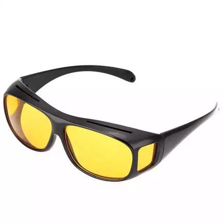 Очки с желтыми просветляющими линзами для водителей, рыбаков,охотников