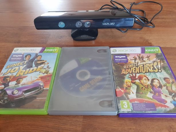 Kinect Xbox 360 +3 jocuri impecabil