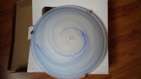 Таванен плафон Магнолия - цвят син