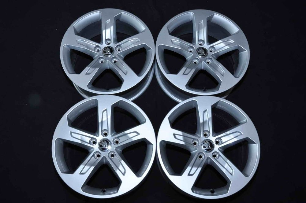 "Jante Noi 17"" Originale Skoda Yeti Octavia Superb 17 inch Bucuresti - imagine 1"