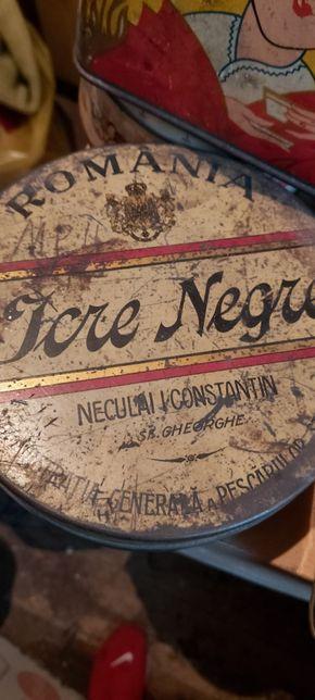 Cutii tabla vintage diferite cafea , tutun, icre , vopsea