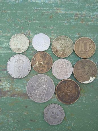 монеты разные продам