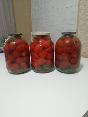 Домашние помидоры!