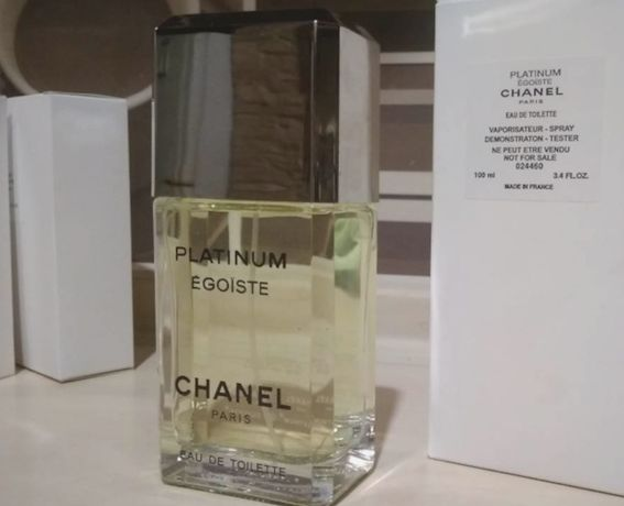 Элегантный Мужской парфюм Chanel Egoiste Platinum 100m