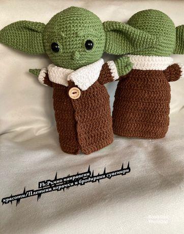 Плетена играчка Бебе Йода