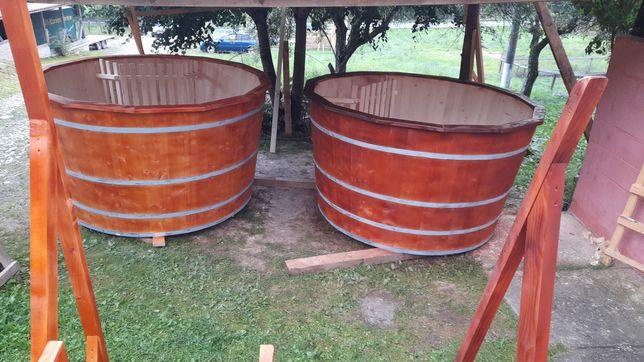 Ciubăr lemn tip piscină