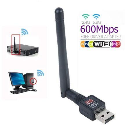 WI Fi Антена за безжичен интернет с USB 2.0 накрайник 2.4GHz