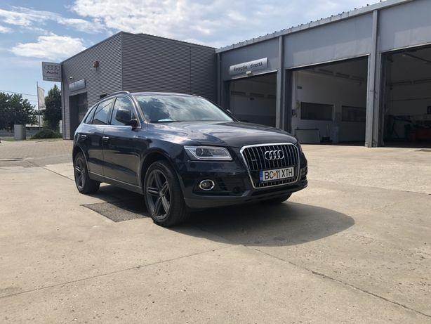 Audi Q5| 190 CP | EURO 6 | automat | Distronic | piele alba |