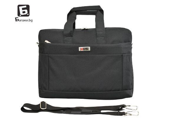 Бизнес чанта от текстил/ чанта за лаптоп, КОД: 8303