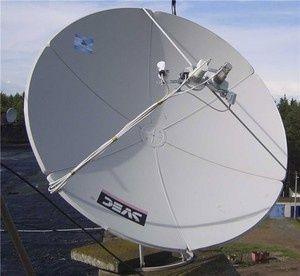 Спутниковая антенна SVEC и ресивер