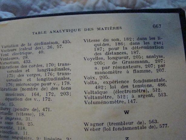 """Carte veche 1928 - """"Histoire de la phiysique"""" de Edmod Hoppe"""