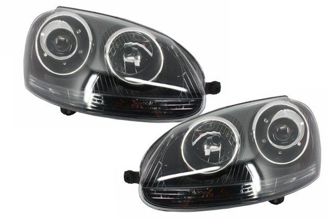 Faruri VW Golf 5 GTI R32 fundal negru * PROMOTIE *