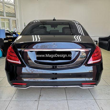 Folie auto geamuri masini in Bucuresti LLumar atelier omologat RAR