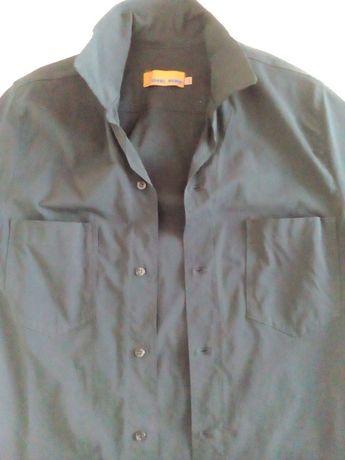 ПРОДАВАМ черна мъжка спортна риза маркова