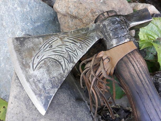 Tomahawk vechi drumetie vânătoare panoplie