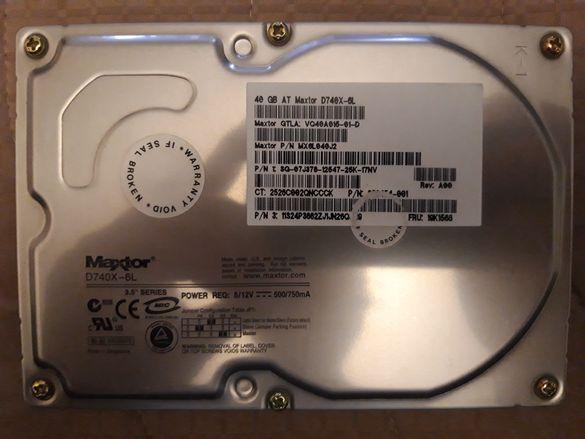 Хард диск Maxtor-40GB