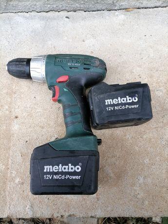Bormașina electrica Metabo 12 volti fără încărcător