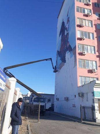 ИП оказывает услуги АГП 28 метров.