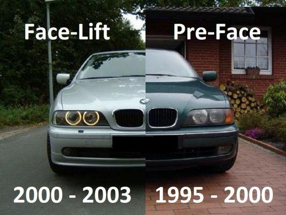 Държачи Водачи Щипки Фарове за BMW 5-та серия e39 1995 до 2000 е39 БМВ