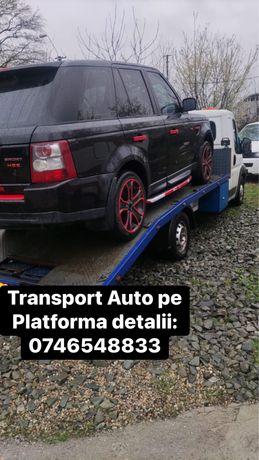 Transport Auto pe platforma