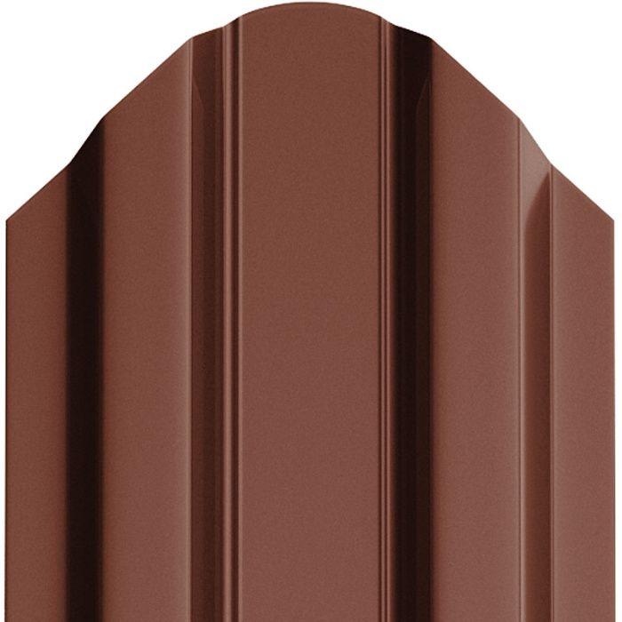 Sipca metalica vopsita lucios maro, caramizie si neagra 0,45 mm