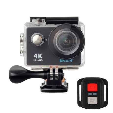 Подарък! Спортна екшън камера / Action Camera EKEN H9/H9R Ultra HD 4K