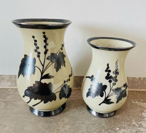 Порцеланова ваза RW  Bavaria, накитно сребро