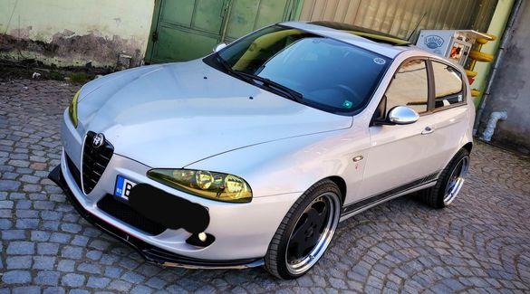 Лип спойлер за алфа ромео 147 / Alfa Romeo 147 Lip Spoiler