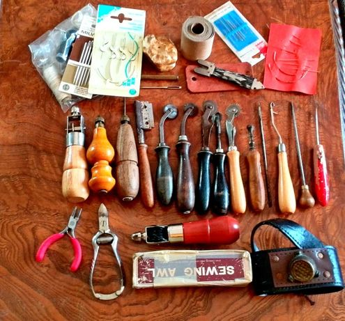 Сарашки инструменти за кожа