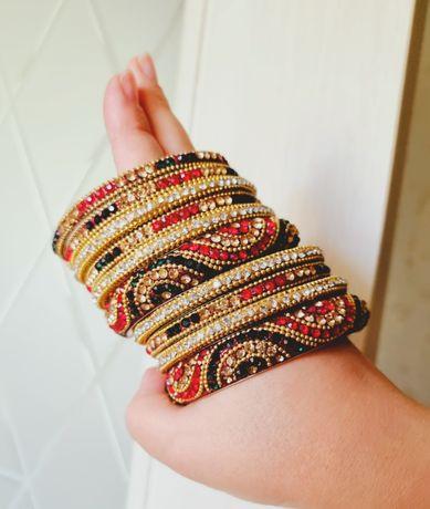 РАСПРОДАЖА – Набор браслетов из Индии
