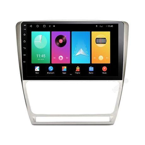 Radio Navigatie GPS Android 10 inch 4+64GB Skoda Octavia 2 Facelift FL