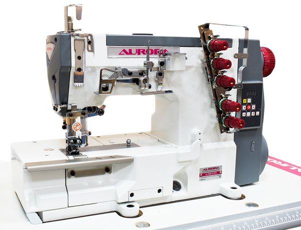 Плоскошовная (распошивальная) машина AURORA A-500-01DN (прямой привод)