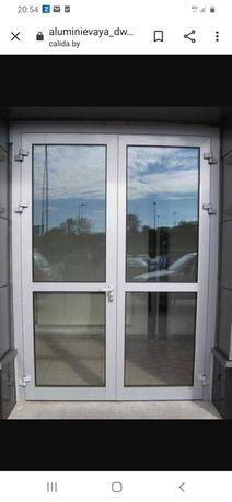 Алюминиевые окна, двери, витражи