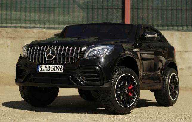 Masinuta electrica pentru 2 copii Mercedes GLC63s 180W 12V 14Ah #Black