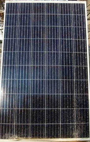 Солнечная батарея 260 Вт. Заряжает аккумулятор. Стекло в трещинках.