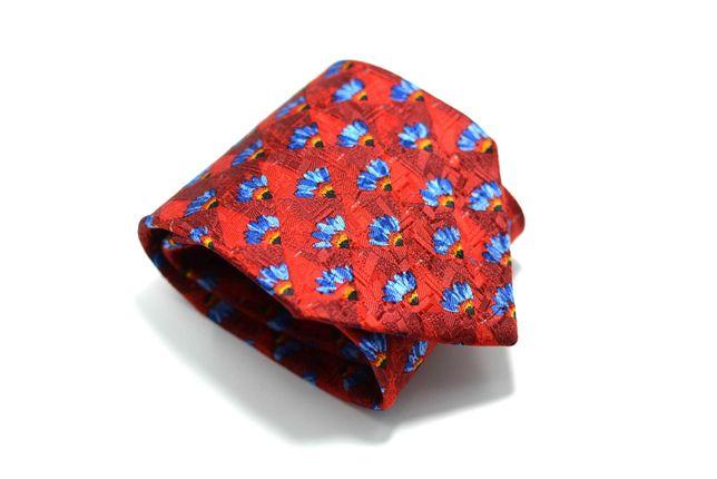 Cravata Barbati Ermenegildo Zegna 10 x 148 cm Rosie Flori CRR2