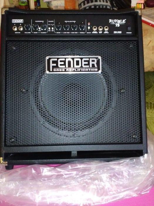 Fender Rumble 75W - amplificator chitara bass Bucuresti - imagine 1