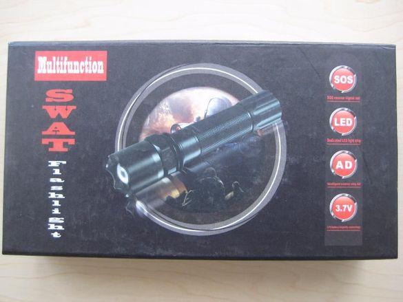 LED акумулаторен фенер