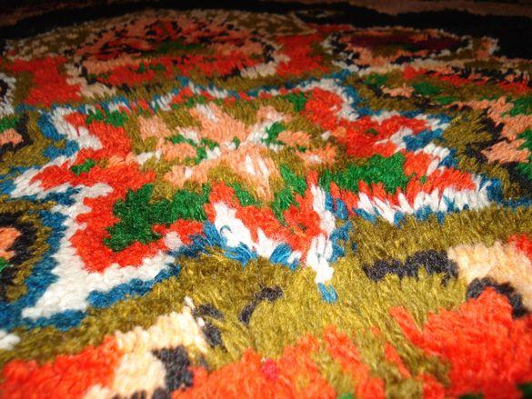 Изключително красив Губер (китеник, одеало, килим )- пъстър и колорите