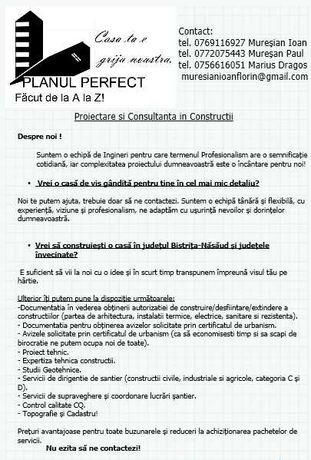 Proiectare și Consultanță în construcții. PLANUL PERFECT