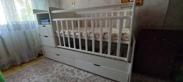 Детская кровать новая с упакованным матрасом