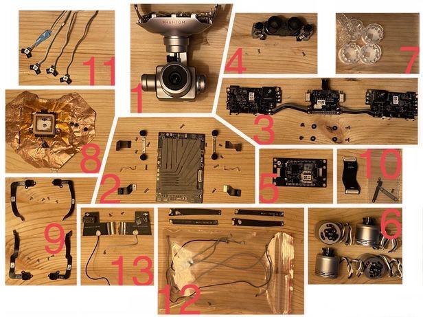 Piese Dji Phantom 4Pro/4Pro Obsidian camera ghimbal placi baza gps