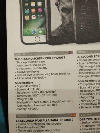 Чехол для Айфон 6,6s, 7, 8, также это второй экран