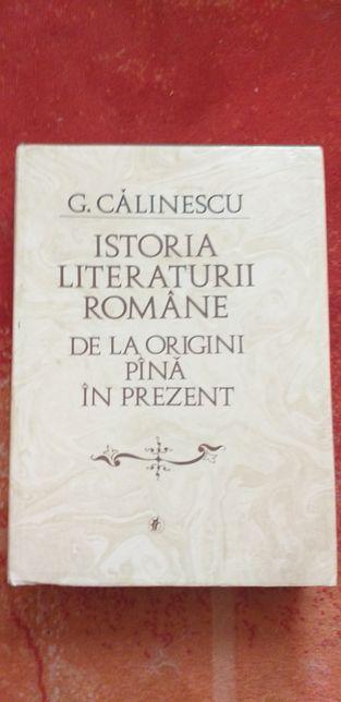 Istoria literaturii române, George Calinescu