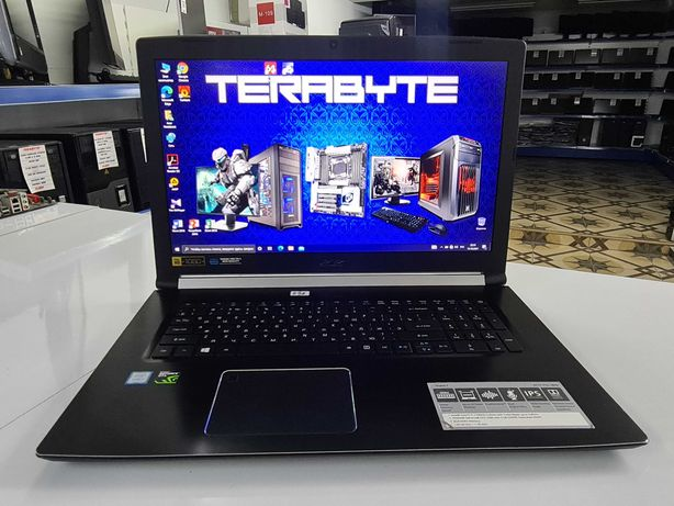 "Мощный Acer(17.3"") i7 7gen/6Gb GTX1060/16Gb/""TERABYTE"" Шымкент"