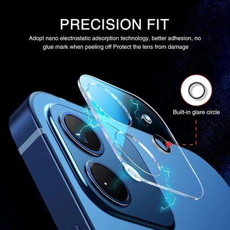 Стъклен протектор за камера за Apple iPhone 12 Pro Max Mini 11 Pro/ 12