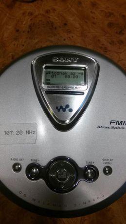 Sony Discman Mp3 cu radio Fm