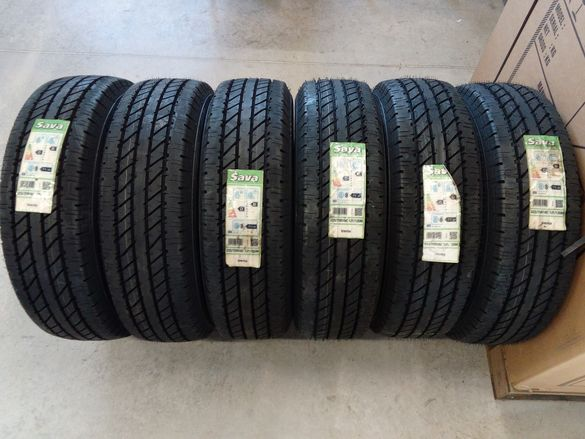 Нови летни гуми SAVA 225/75R16C 121/120M