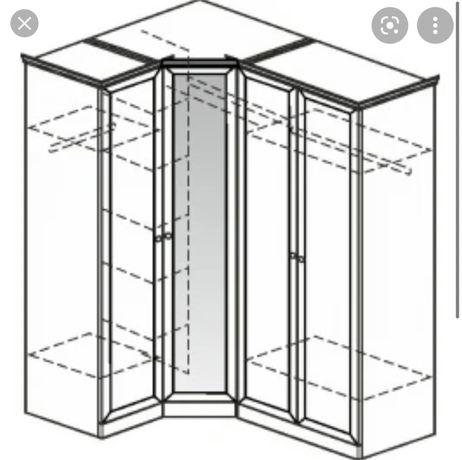 Угловой полноценный шкаф